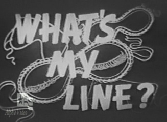 What's My Line? (TV Series 1950–1967) - Full Cast & Crew ...